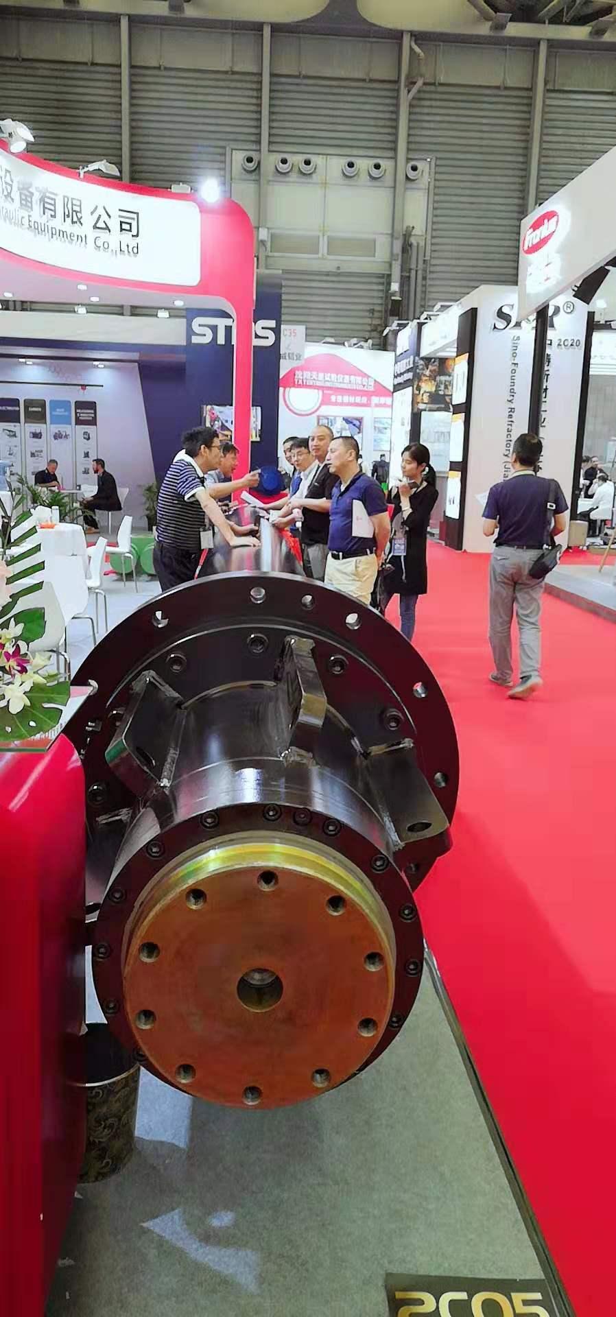 洪力液压在中国国际铝工业展会取得圆满成功